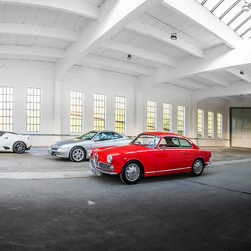 Garage für Oldtimer Mühltal