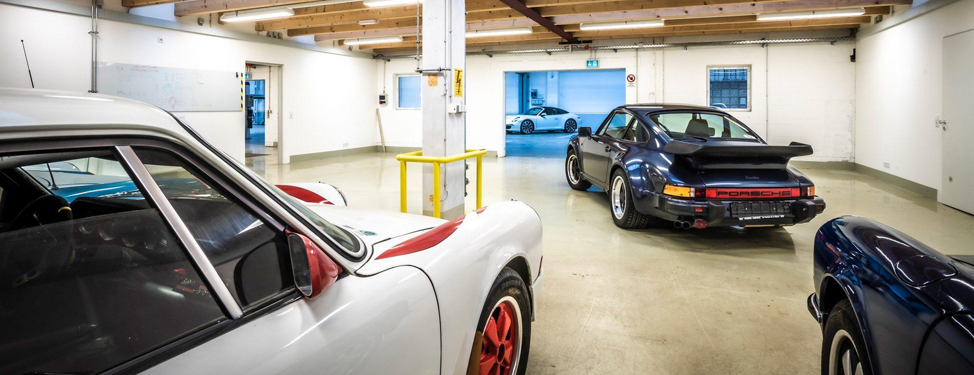 Garage für Oldtimer